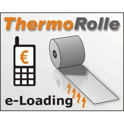 Thermorolle 57/25m/12, blanco