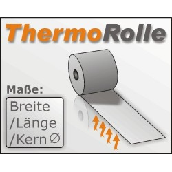 Thermorolle 62/40m/12, blanco